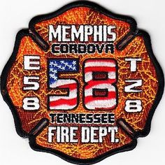 TENNESSEE-MEMPHIS-FIRE-DEPARTMENT-ENGINE-58-TRUCK-28-Patch