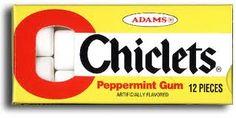Chiclets kauwgom