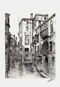 Acquaforte - Canali di Venezia