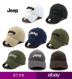 Hot Jeep Mens Cotton Hat Baseball Cap Golf Hat Ball Casual Sun Cap Outdoor  Hat b93ae7f5c1cf