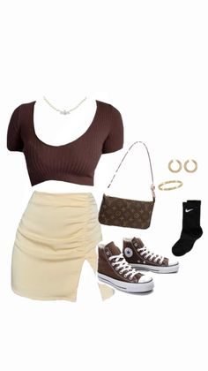 Boujee Outfits, Cute Swag Outfits, Sporty Outfits, Teen Fashion Outfits, Curvy Outfits, Retro Outfits, Stylish Outfits, Mode Streetwear, Streetwear Fashion
