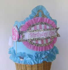 LOLLIPOP BIRTHDAY   Birthday  Crown  Hat  Adult or by glamhatter, $24.00