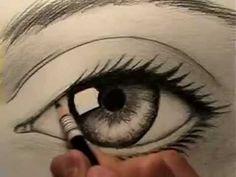 Desenhando um olho