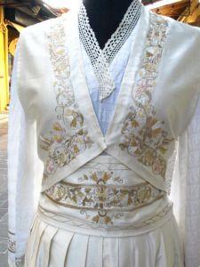 Greek Traditional Dress, Traditional Outfits, Greek Dress, Folk Dance, Folk Costume, Fabric Art, Greek Costumes, Vintage, Greece