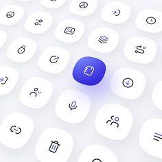 png by Anton Lapko Web Design Icon, Ui Ux Design, Logo Design, Fluent Design, Ios Icon, Medical Icon, Flower Logo, Design System, Ui Elements
