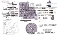 check ball locations in gm 39 s 4l60e transmission valve. Black Bedroom Furniture Sets. Home Design Ideas