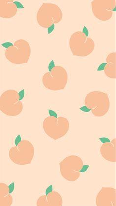 Wallpaper Cute Backgrounds 55 New Ideas Peach Wallpaper, Cute Pastel Wallpaper, Iphone Background Wallpaper, Kawaii Wallpaper, Aesthetic Iphone Wallpaper, Disney Wallpaper, Aesthetic Wallpapers, Lock Screen Wallpaper, Macbook Wallpaper