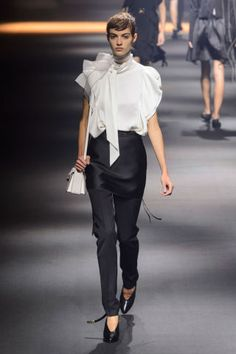 Lanvin Spring 2016 collection. See all the best looks from Paris Fashion Week here: