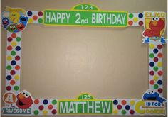 photo frame party prop Elmo to take by titaspartycreations Paris Birthday Parties, Birthday Party Themes, Birthday Ideas, Party Photo Frame, Party Frame, Sesame Street Party, Sesame Street Birthday, Party Props, Party Ideas