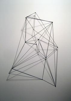 'Untitled K' metal sculpture by Andrew K Green.