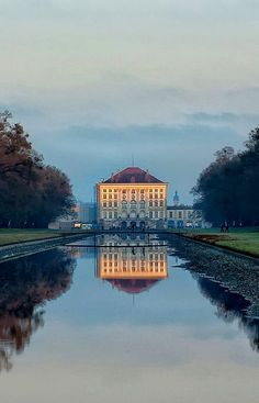 Luxury Nymphenburg Palace Munich Bavaria Germany by Mirek Pruchnicki