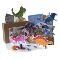 Dinosaur Hunt Party Game - All in one kit includes treasure hunt and treasure! Doesn't get any easier to host a fantastic dinosaur party!