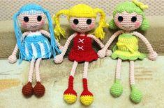 Amigurumi bamboline stile lalaloopsy