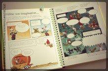Je crée mes bandes dessinées Editions Usborne