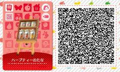 Herbal Tea Shelf - Animal Crossing New Leaf QR Code