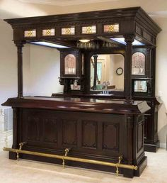 Image Detail for - Furniture Bar Tables Bar Furniture For Sale, Home Bar Furniture, Furniture Ideas, Luxury Furniture, Home Bar Rooms, Home Pub, Pub Interior, Built In Bar, Home Bar Designs