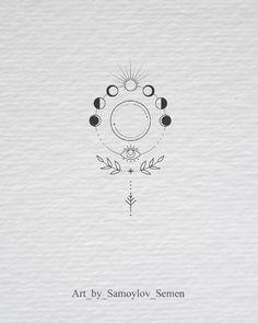 moon phases botanical illustration moon phases botanical illustration tattoo - tattoo quotes - tattoo fonts - watercolor tattoo - dog tattoo - tiny tattoo - flower tattoo - mermaid tattoo - diy tattoo - diy tattoo images - diy tattoo i Mini Tattoos, Cute Tattoos, Beautiful Tattoos, New Tattoos, Body Art Tattoos, Crown Tattoos, Heart Tattoos, Tatoos, Temporary Tattoos