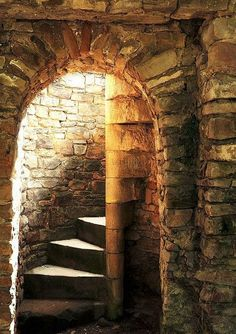 castle, medieval, and stairs image Stairway To Heaven, Medieval Castle, Doorway, Middle Ages, Stairways, Belle Photo, Architecture, Monuments, Hearth