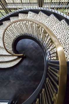 We'll take the stairs...especially when the stairs look like these by Metal Solutions.