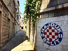 Croatia's Dalmatian Coast, Part I: Split and the Island of Brac Hnk Hajduk Split, Split Croatia, National Championship, Dalmatian, Football Soccer, Chicago Cubs Logo, Messi, Iphone Wallpaper, Coastal