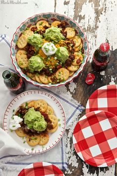 RITZ Nachos and Coca-Cola Ice Cream Floats for Game Day! {PINTEREST CONTEST}