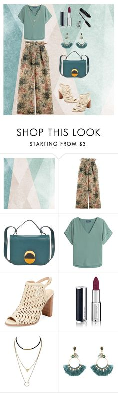 """Light green and flowers for Summer"" by arara-sustentavel ❤ liked on Polyvore featuring Sandberg Furniture, Zimmermann, Marni, Polo Ralph Lauren, Renvy, Givenchy, Atelier Mon and Bobbi Brown Cosmetics"