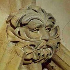 T.C.C.: The Green Man - Norwich Cathedral
