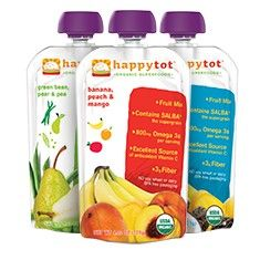 Happy Tot Organic Pouches, Meal Bowls and Snacks for Tot | HappyFamily