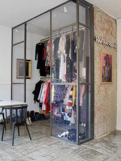 Walk in (OsloDeco) Wardrobe Storage, Wardrobe Rack, Door Design, Closet, House, Furniture, Home Decor, Feels, Retail