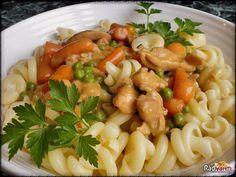 Bruschetta, Tofu, Food Inspiration, Pasta Salad, Feta, Macaroni And Cheese, Food And Drink, Yummy Food, Healthy Recipes