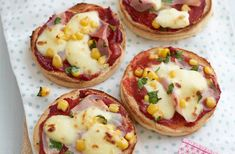 Yummy muffin pizzas   Tesco Real Food