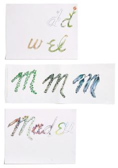 colored pencil snippets. by maggie of madewell