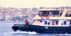 Stock Footage - Ferry And Big Boat At Bosphorus Istanbul | VideoHive