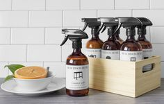 Safe Cleaning Products for Wood Canadian Gifts, Safe Cleaning Products, Cleaning Wood, Wood Surface, Wine Rack, House Warming, Make It Simple, Plant Based, Clean Eating