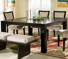 60 x 60 dining room table