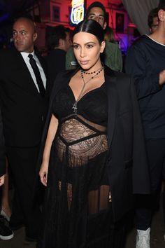 "kuwkimye: ""Kim at the Givenchy fashion show during Spring 2016 NYFW - September 11, 2015 """