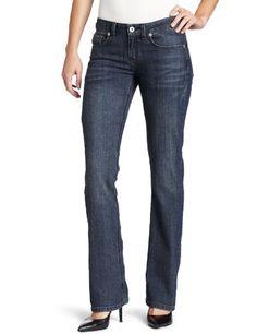Dickies Womens Slim Boot Cut Jean Antique Dark Indigo 4 Regular * Click image to review more details.