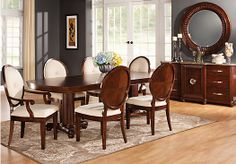 Shop for a Vienna Manor  5 Pc Dining Room at Rooms To Go. Find Dining Room Sets that will look great in your home and complement the rest of your furniture.