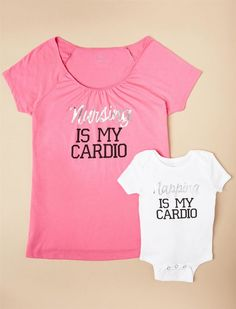 f3e00ff0e3 Napping Is My Cardio Nursing Tee  amp  Baby Bodysuit  affiliate Starting  Solids Baby