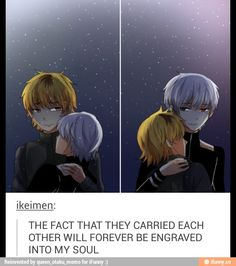 Totally forgot that hide carried Kaneki, cus I thought Kaneki got to the coffee shop (can't say actually type name of coffee shop cus damn autocorrect) by himself when really it was hides doing. So cute :3