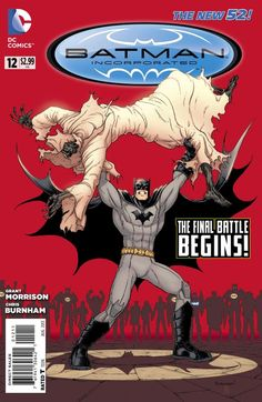 The final battle has begun in this preview of Batman, Incorporated #12. Could Batman be on the verge of avenging all he's lost?