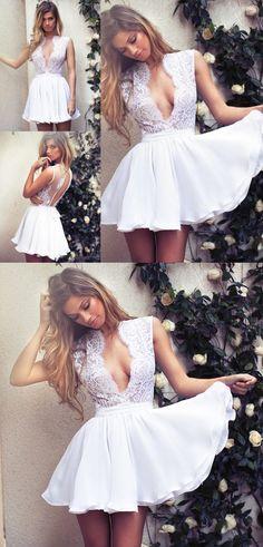 short white homecoming dress, 2017 white homecoming dress, short homecoming dresses, dancing dresses party dresses