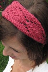 Bloom Couture Knit Headband Pattern