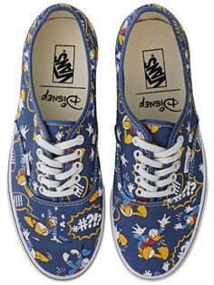 Buy Vans Disney Donald Duck Authentic Trainers | Oneposter.com | UK Store