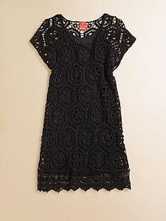 Ella Girl Girl's Crochet Dress