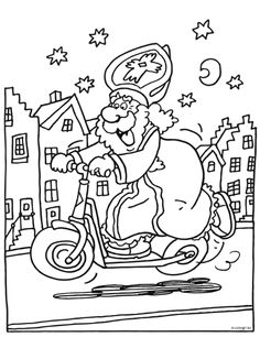 Steppen Coloring For Kids, Coloring Pages, Saint Nicolas, Christmas Time, Saints, Cartoon, Comics, Dutch, Fictional Characters