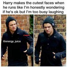 Harry running