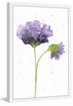 Items similar to Watercolor flower painting, watercolor poppies, abstract poppies, poppy flower art, flower print - on Etsy Watercolor Poppies, Easy Watercolor, Watercolor Cards, Abstract Watercolor, Simple Watercolor Flowers, Simple Flower Painting, Watercolor Paintings For Beginners, Painting Abstract, Watercolour Painting