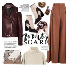 """Winter Scarf Style"" by punnky ❤ liked on Polyvore featuring Givenchy, Zimmermann, Fratelli Karida, Proenza Schouler, Chloé and Haute Hippie"