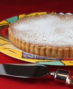 The best almond tart ever! Everyone should make this at least once!